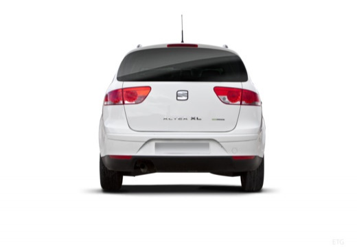 SEAT Altea XL II hatchback tylny