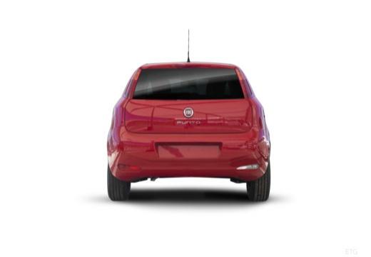 FIAT Punto II hatchback czerwony jasny tylny