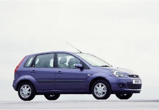 FORD Fiesta VI hatchback fioletowy przedni prawy