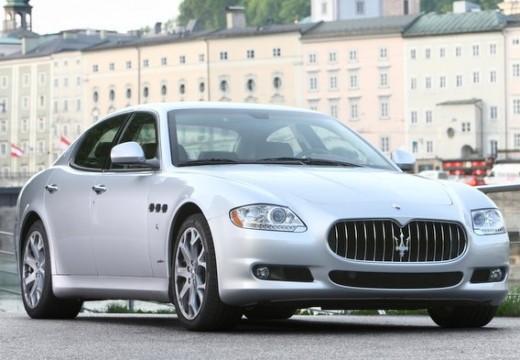 MASERATI Quattroporte III sedan silver grey przedni prawy