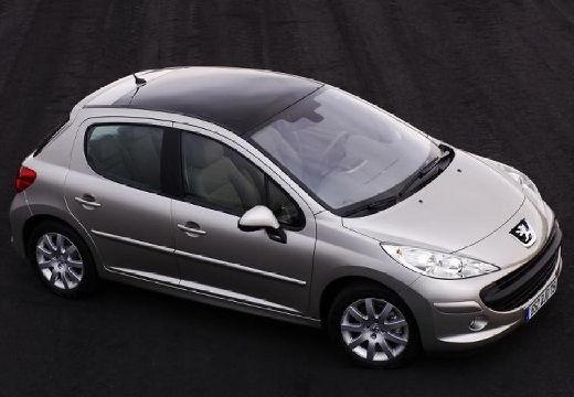 PEUGEOT 207 I hatchback silver grey przedni prawy