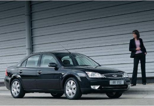 FORD Mondeo IV sedan czarny przedni prawy