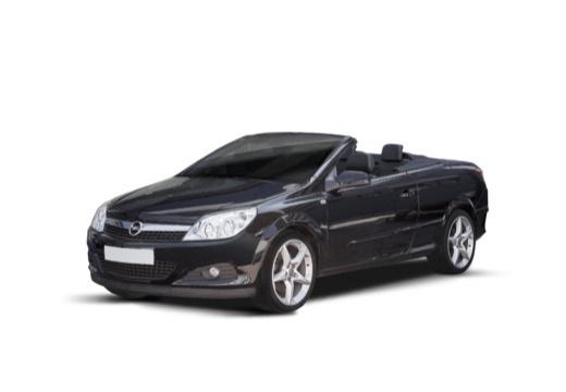OPEL Astra TwinTop kabriolet czarny przedni lewy