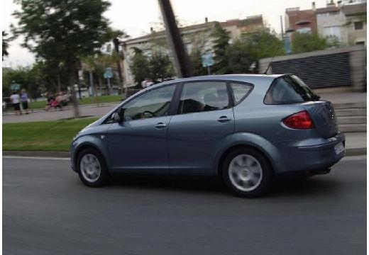 SEAT Toledo III hatchback szary ciemny tylny lewy