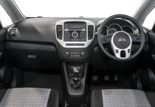 KIA Venga II hatchback tablica rozdzielcza