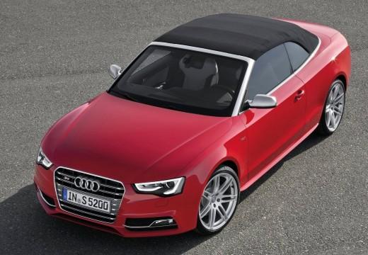 AUDI A5 kabriolet czerwony jasny przedni lewy