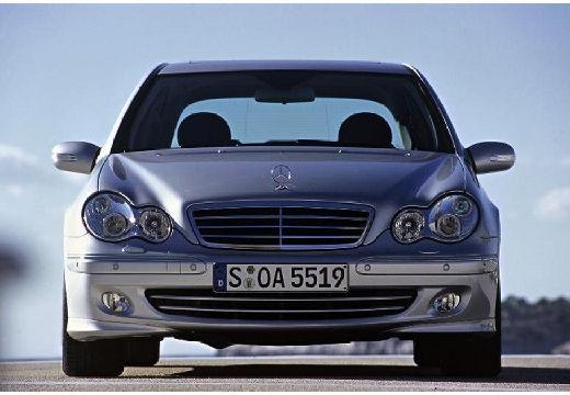 MERCEDES-BENZ Klasa C sedan silver grey przedni