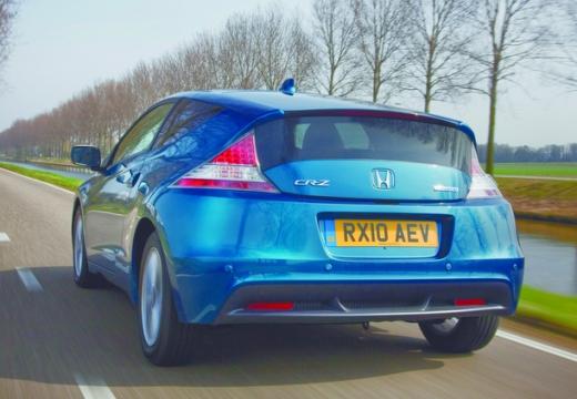HONDA CR-Z coupe niebieski jasny tylny lewy