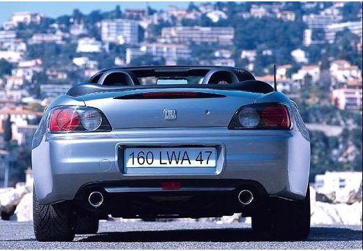 HONDA S 2000 I roadster silver grey tylny