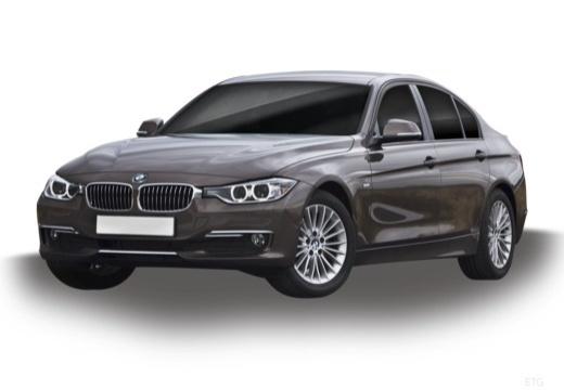 BMW Seria 3 sedan brązowy przedni lewy