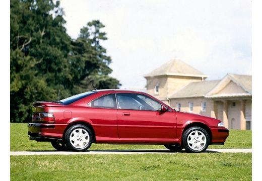 ROVER 200 coupe bordeaux (czerwony ciemny) boczny prawy