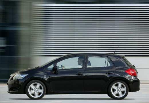 Toyota Auris I hatchback czarny boczny lewy