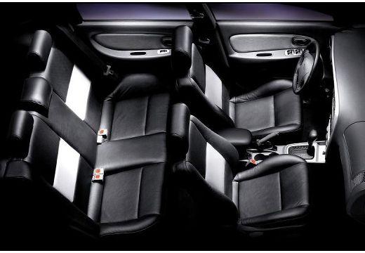 KIA Shuma II hatchback wnętrze