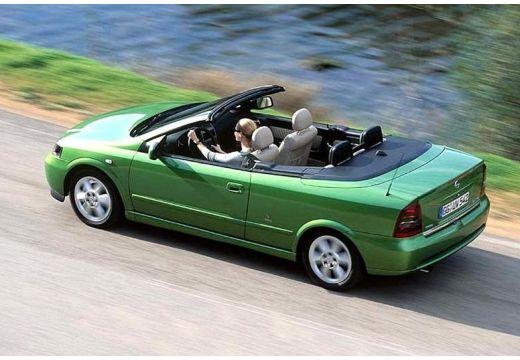 OPEL Astra kabriolet zielony tylny lewy
