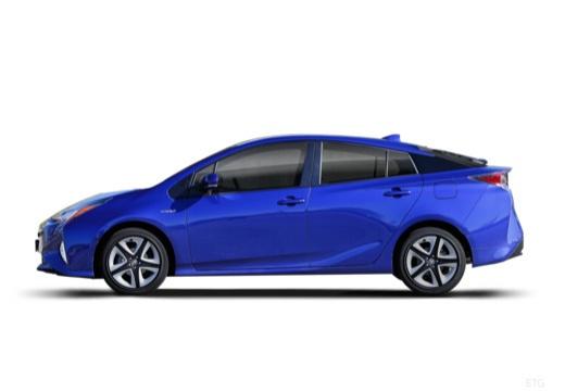 Toyota Prius hatchback boczny lewy
