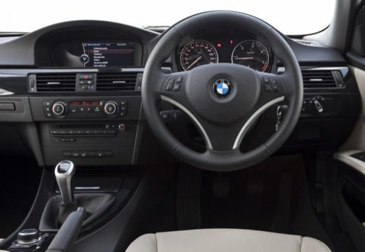 BMW Seria 3 Touring E91 II kombi niebieski jasny tablica rozdzielcza