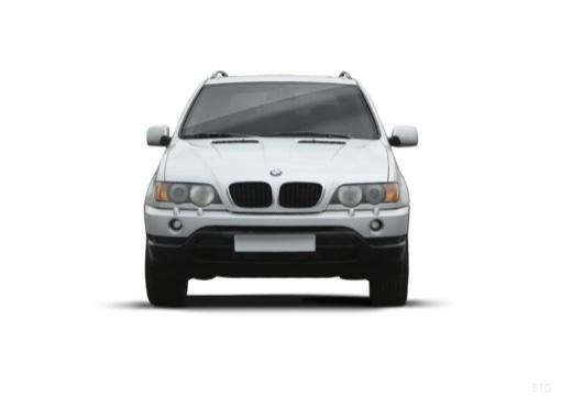 BMW X5 X 5 E53 I kombi silver grey przedni