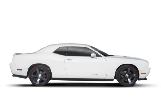 DODGE Challenger I coupe biały boczny prawy