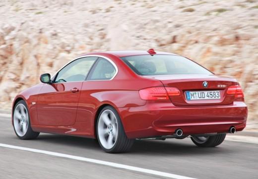 BMW Seria 3 E92 II coupe czerwony jasny tylny lewy