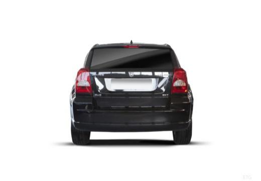 DODGE Caliber II hatchback czarny tylny