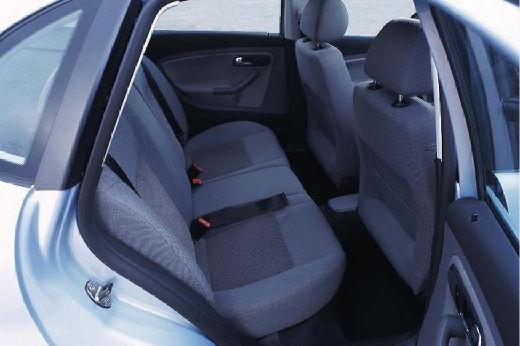 SEAT Cordoba III sedan silver grey wnętrze