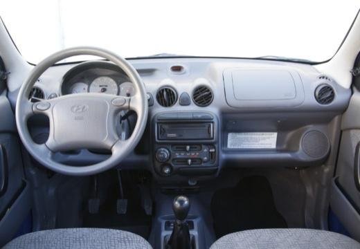 HYUNDAI Atos Prime III hatchback niebieski jasny tablica rozdzielcza