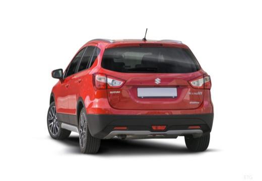 SUZUKI SX4 S-cross I hatchback czerwony jasny tylny lewy