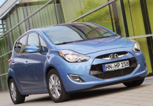 HYUNDAI ix20 hatchback niebieski jasny przedni prawy