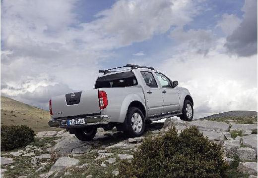 NISSAN Navara II pickup silver grey tylny prawy