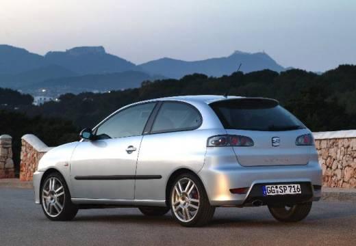 SEAT Ibiza IV hatchback silver grey tylny lewy