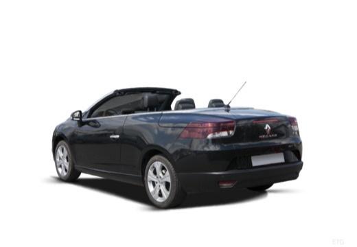 RENAULT Megane III CC kabriolet czarny tylny lewy