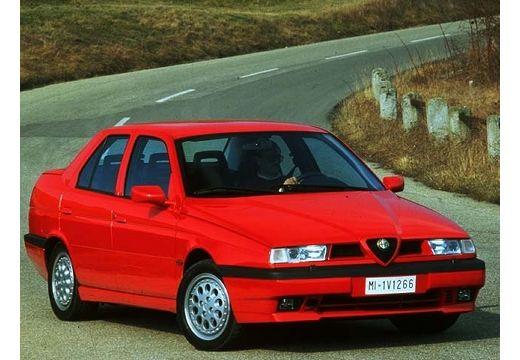 ALFA ROMEO 155 I sedan czerwony jasny przedni prawy