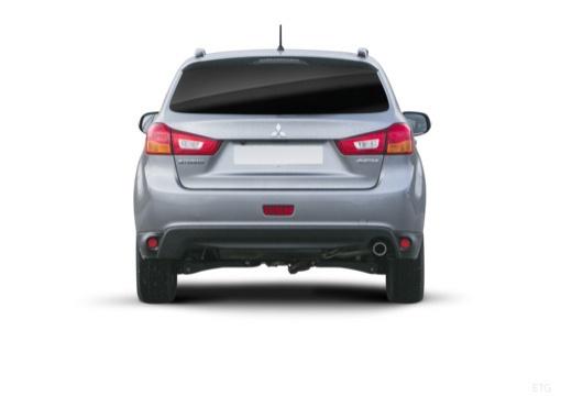 MITSUBISHI ASX II hatchback szary ciemny tylny