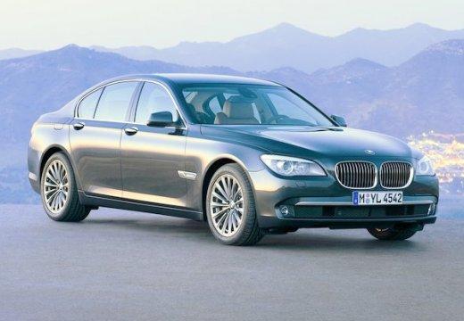 BMW Seria 7 sedan zielony przedni prawy
