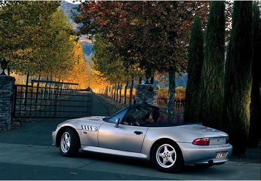 BMW Z3 roadster silver grey tylny lewy