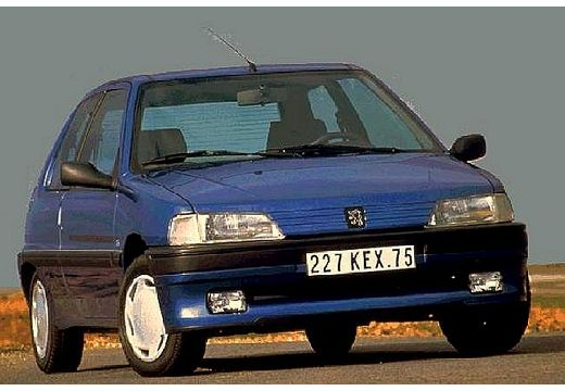 PEUGEOT 106 I hatchback niebieski jasny przedni prawy