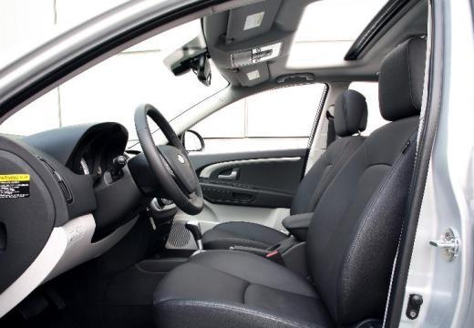KIA Ceed Sporty Wagon I kombi silver grey wnętrze