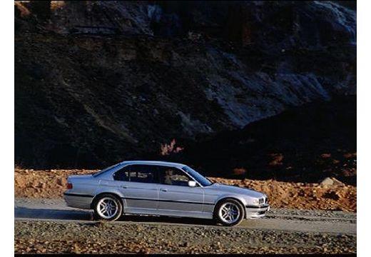 BMW Seria 7 E38 sedan silver grey boczny prawy