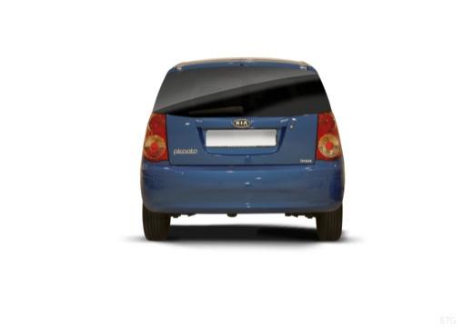KIA Picanto II hatchback tylny