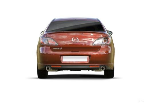 MAZDA 6 III hatchback tylny