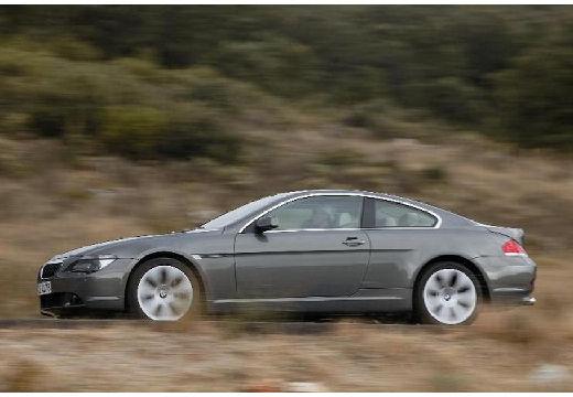 BMW Seria 6 E63 I coupe szary ciemny przedni lewy