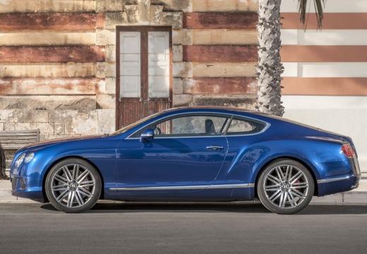 BENTLEY Continental GT II coupe niebieski jasny boczny lewy