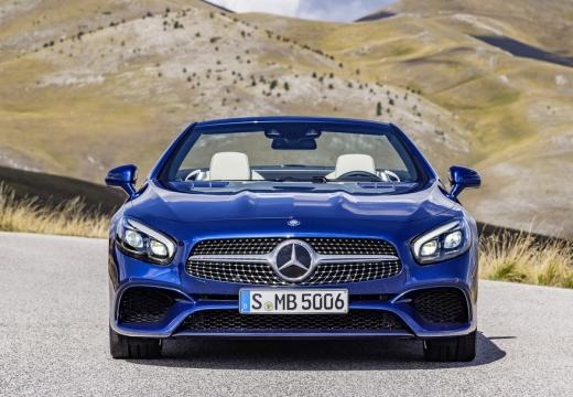 MERCEDES-BENZ Klasa SL roadster niebieski jasny przedni