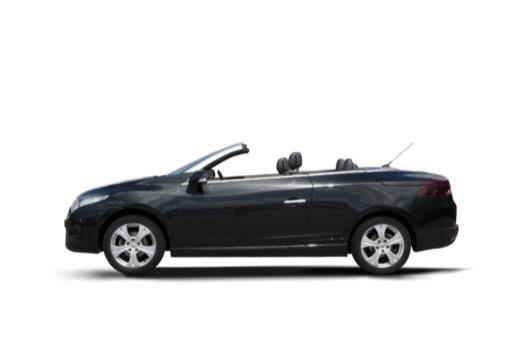 RENAULT Megane III CC kabriolet czarny boczny lewy