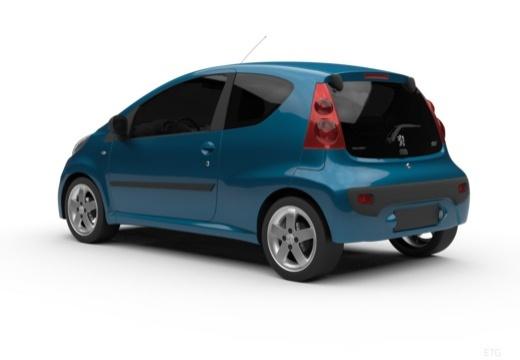 PEUGEOT 107 hatchback tylny lewy