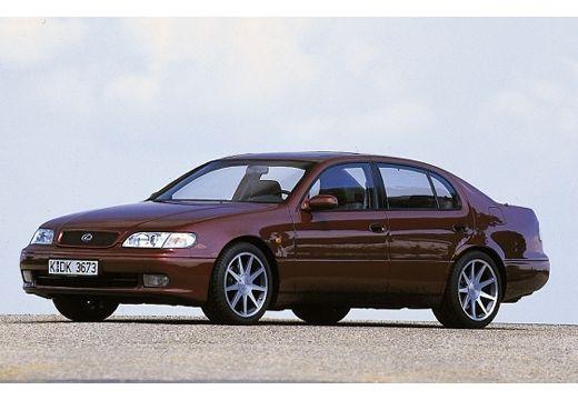 LEXUS GS 300 sedan bordeaux (czerwony ciemny) przedni lewy