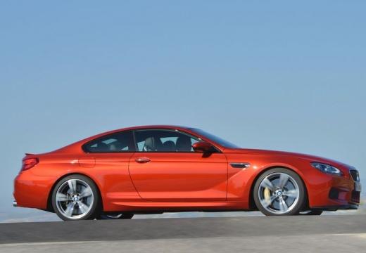 BMW Seria 6 F13 I coupe czerwony jasny boczny prawy