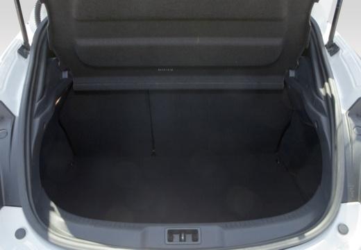 RENAULT Megane III Coupe II hatchback przestrzeń załadunkowa