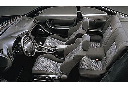 Toyota Celica I coupe wnętrze