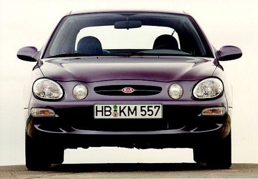 KIA Shuma hatchback fioletowy przedni